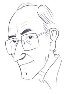 09-Caricatura Alejandro de la Sota