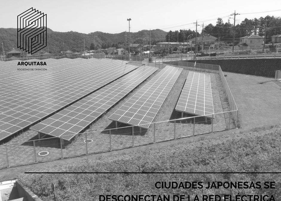 CIUDADES JAPONESAS SE DESCONECTAN DE LA RED ELÉCTRICA