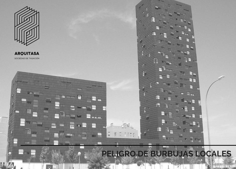 PELIGRO DE BURBUJAS LOCALES