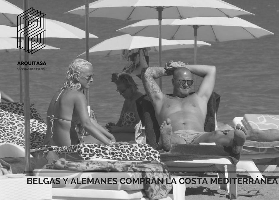 BELGAS, ALEMANES Y SUECOS COMPRAN LA COSTA MEDITERRÁNEA.