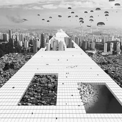Superstudio Revisitado, por Nitsche Arquitetos + Jorn Konijn. Fuente: ArchDaily