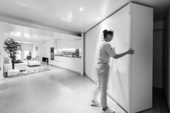 . Adaptación y flexibilidad; mobiliario, espacio