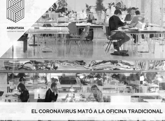 El coronavirus mató oficinas