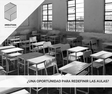 ¿Una oportunidad para redefinir las aulas?