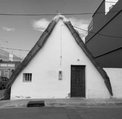 La Barraca, casa típica de la huerta valenciana. El Palmar, Valencia. Fuente: archivo personal.