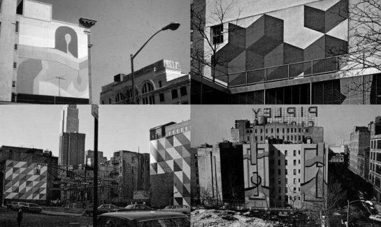 """""""City Walls"""" Nueva York, Allan D'Archangelo."""