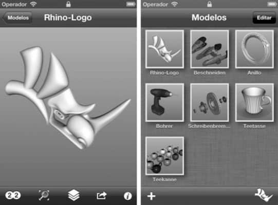 El Visualizador: iRhino 3D