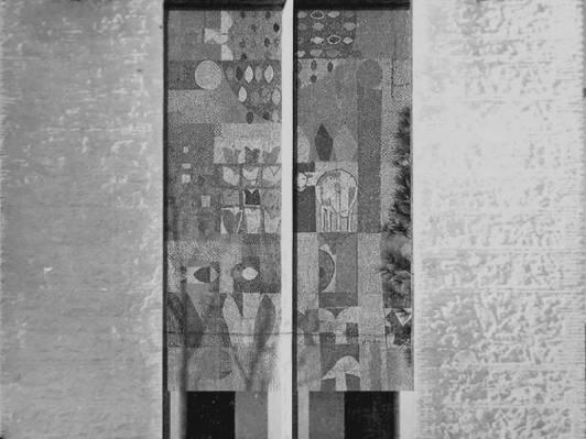 Fachada principal de la iglesia de Villalba de Calatrava.