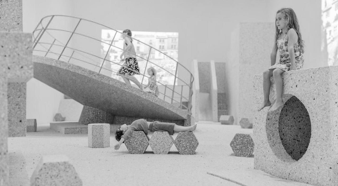 Collective Assemble ganó el premio Turner y presentó The Brutalist Playground al Royal Institute of British Architects en 2015