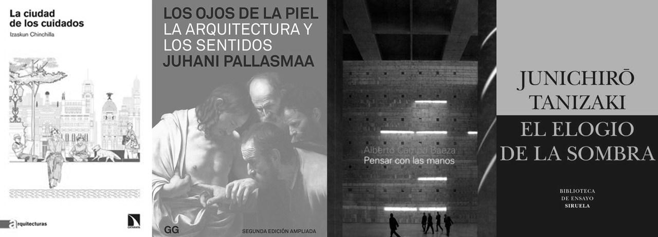 Cuatro libros para regalar a arquitectos el día 23 de abril