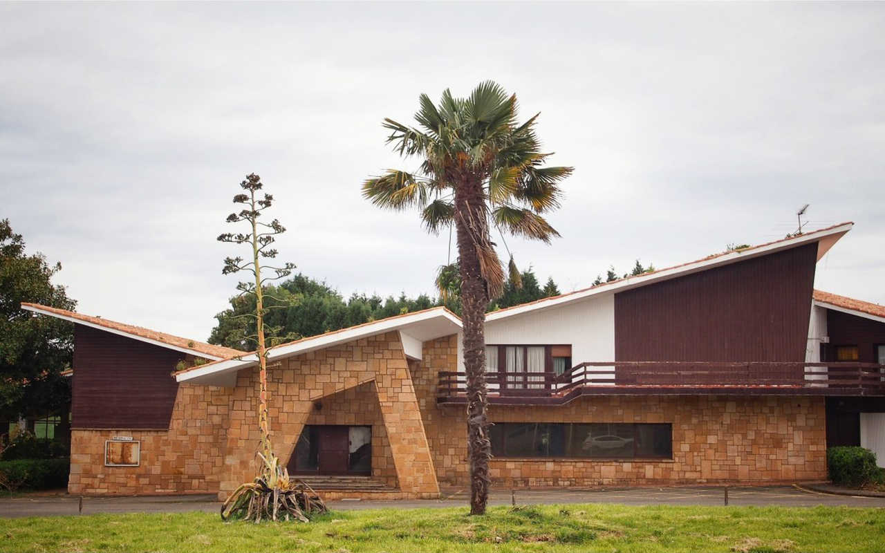 La ciudad residencial de Perlona fue proyectada por los hermanos Somolinos