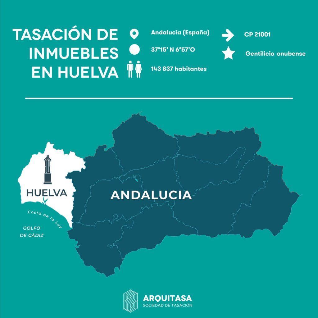 Datos sobre la tasación de viviendas en Huelva